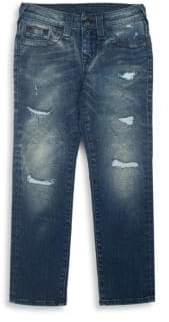 True Religion Toddler's, Little Boy's & Boy's Geno Slim-Fit Single End Jeans