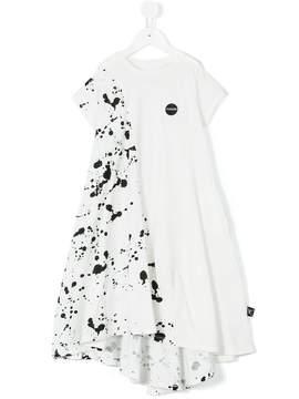 Nununu splash paint effect dress