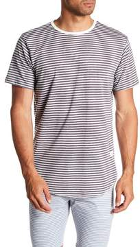 Kinetix Prague Nights Stripe Print Tee