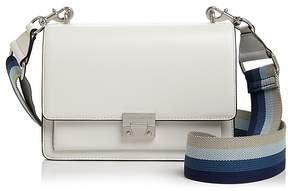 Rebecca Minkoff Christy Medium Leather Shoulder Bag - BIANCO MULTI WHITE MULTI/SILVER - STYLE