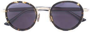 Gucci engraved bridge sunglasses