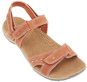 Earth Origins Suede Sandals w/ Removable Strap - Bianca