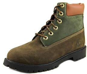 Timberland 6 Inch Prem Youth Round Toe Leather Multi Color Boot.