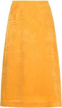 CITYSHOP velvet midi-skirt