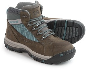 Caterpillar Champ Mid Work Boots - Steel Safety Toe (For Women)