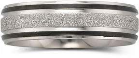 JCPenney FINE JEWELRY Mens 7mm Band Stainless Steel
