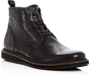 John Varvatos Men's Brooklyn Lug Leather Lace Up Boots