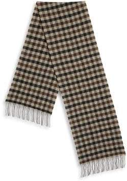 Saks Fifth Avenue COLLECTION by JOHNSTONS Large Gingham Scarf