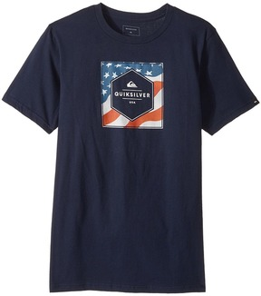 Quiksilver Stars and Stripes Tee Boy's T Shirt
