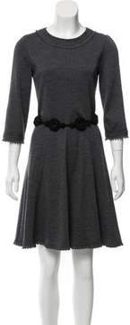 Andrew Gn Jersey Knee-Length Dress