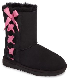UGG Toddler Girl's Pala Water-Resistant Genuine Shearling Boot