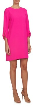 CeCe Women's Tie Sleeve Shift Dress