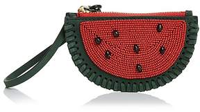 Tory Burch Watermelon Coin Pouch - BANYAN GREEN MULTI/GOLD - STYLE
