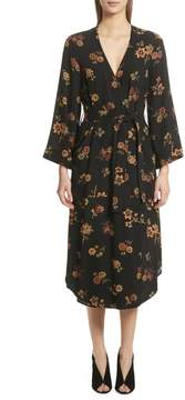 A.L.C. Wilma Silk Wrap Dress