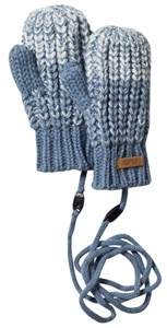 Barts Blue Knitted Stids Mitts