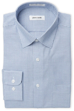 Pierre Cardin Checkered Dress Shirt