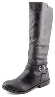 Style&Co. Style & Co Madixe Women Round Toe Synthetic Black Knee High Boot.