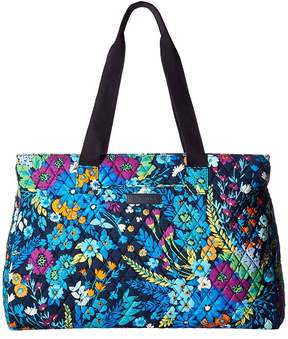 Vera Bradley Triple Compartment Travel Bag Bags - MIDNIGHT BLUES - STYLE