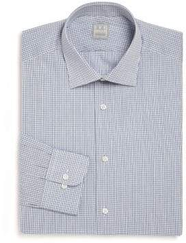 Ike Behar Diamond Print Dress Shirt