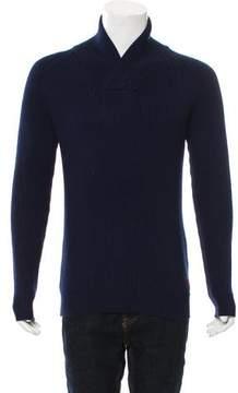 Scotch & Soda Rib Knit V-Neck Sweater