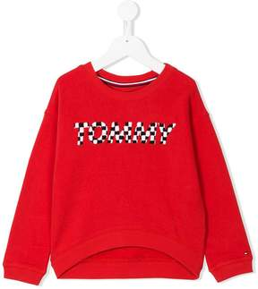 Tommy Hilfiger Junior embroidered brand sweatshirt