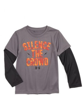 Under Armour Toddler Boy's Silence The Crowd Graphic T-Shirt