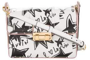 Lanvin Jiji Sketch Print Crossbody Bag