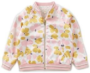 Kate Spade Big Girls 7-14 Printed Bomber Jacket