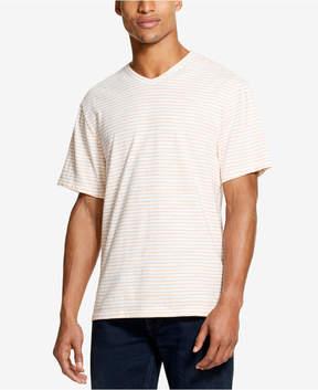 DKNY Men's Textured Stripe V-Neck T-Shirt, Created for Macy's