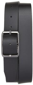 Canali Men's Carbon Leather Belt