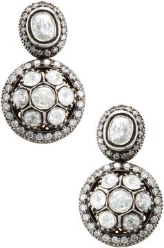 Amrapali Women's 14K Yellow Gold & 2.90 Total Ct. Diamond Drop Earrings