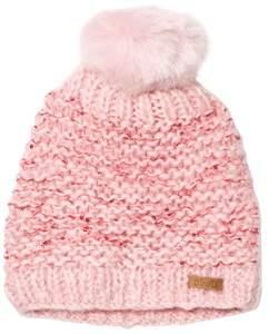 Barts Pink Pom Pom Solace Beanie