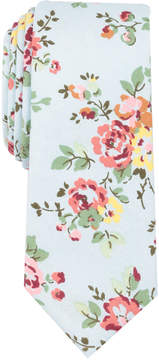 Bar III Men's Yellowstone Floral Skinny Tie, Created for Macy's
