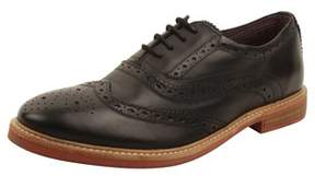 Ben Sherman Brent Wingtip Oxfords In Black.