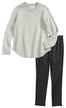 Splendid Girl's Sweater & Leggings Set