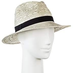 Merona Women's Panama Hat Patterned Weave
