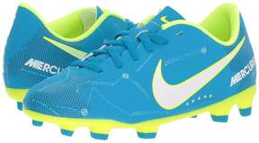 Nike Mercurial Vortex III Neymar Firm Ground Soccer Cleat Kids Shoes