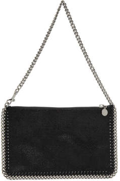 Stella McCartney Black Falabella Zip Pouch