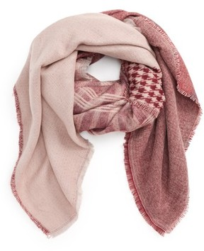 BP Women's Mixed Pattern Square Scarf