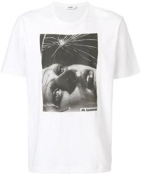 Jil Sander photo print T-shirt
