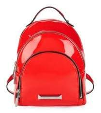 KENDALL + KYLIE Sloane Mini Patent Backpack