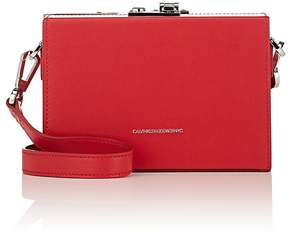 Calvin Klein Women's Mini Leather Box Bag