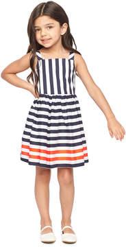 Milly MINIS NAUTICAL STRIPES EMALINE DRESS