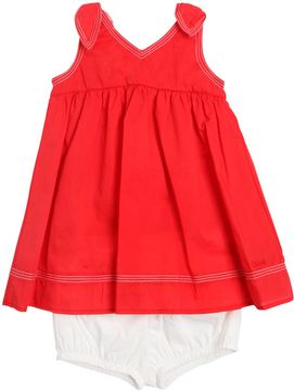 Chloé Cotton Muslin Dress & Diaper Cover