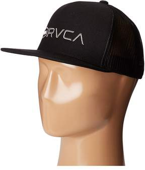 RVCA Lock Up Trucker Hat Caps