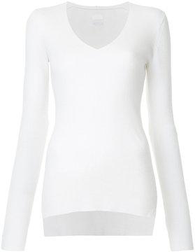 CITYSHOP slim fit V-neck top