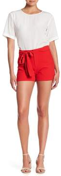 J.o.a. Textured Belted Shorts