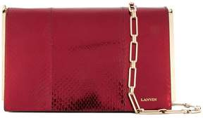 Lanvin textured clutch bag