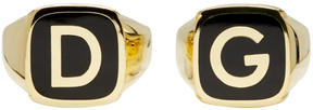 Dolce & Gabbana Gold Ring Set