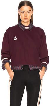 Etoile Isabel Marant Dayton Sporty Knit Sweatshirt